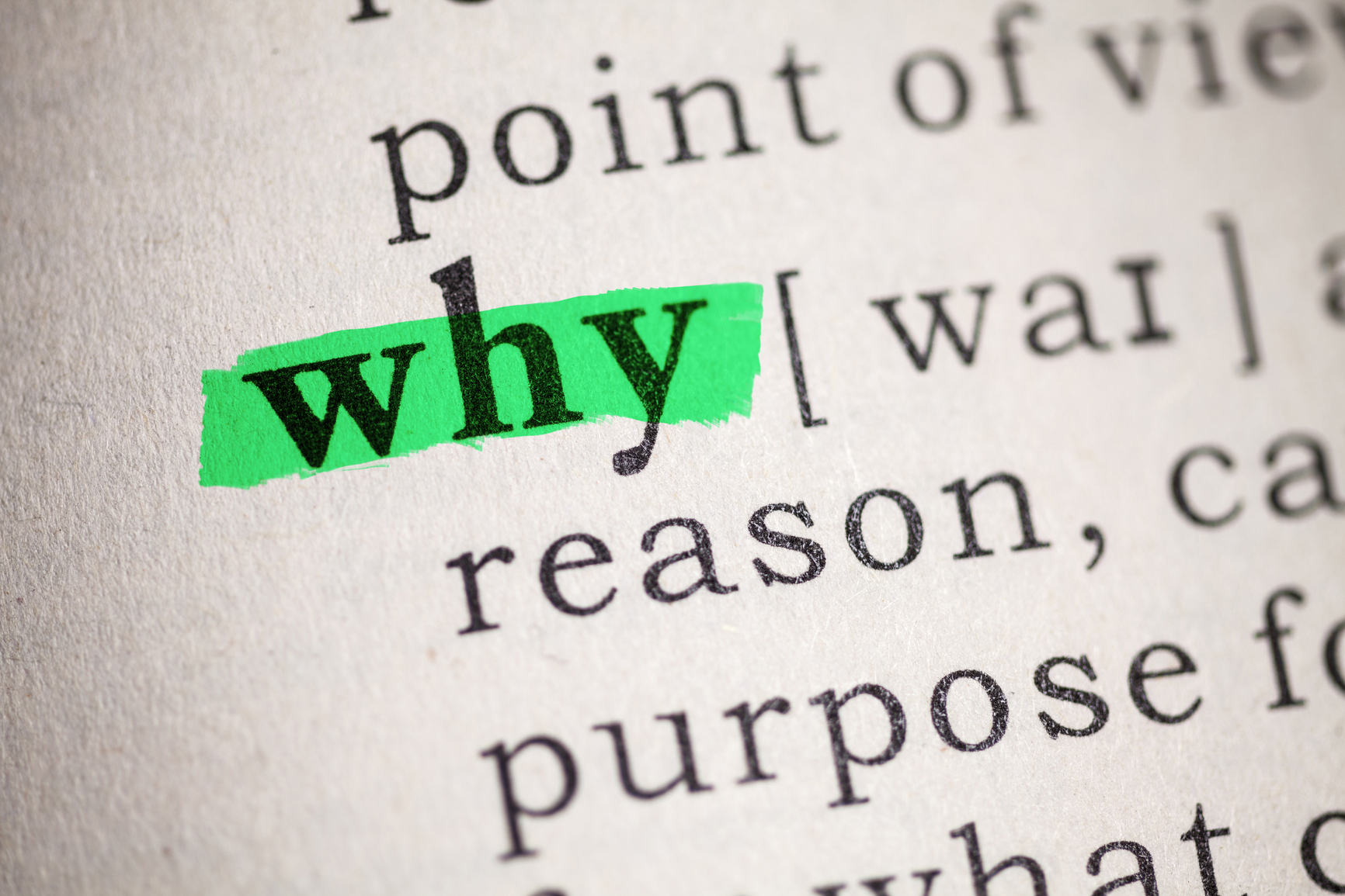 Image result for WHAT IS YOUR WHY